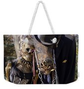 Fall  Halloween On Tillson Street Weekender Tote Bag