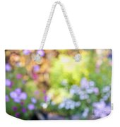 Flower Garden In Sunshine Weekender Tote Bag