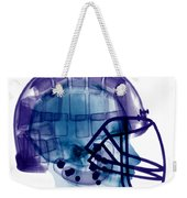 Football Helmet, X-ray Weekender Tote Bag