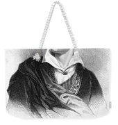 George Gordon Byron (1788-1824) Weekender Tote Bag