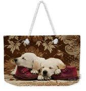Goldidor Retriever Puppies Weekender Tote Bag