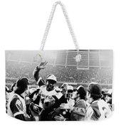Hank Aaron (1934- ) Weekender Tote Bag