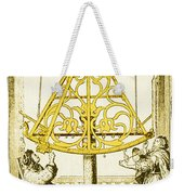 Johannes Hevelius, Polish Astronomer Weekender Tote Bag by Science Source