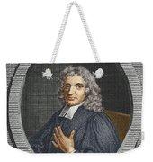 John Flamsteed, English Astronomer Weekender Tote Bag