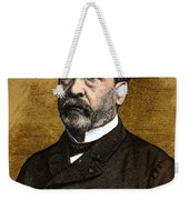 Louis Pasteur, French Chemist Weekender Tote Bag by Science Source