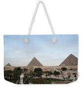 Pyramids Of Giza Weekender Tote Bag