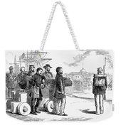 Reconstruction Cartoon Weekender Tote Bag