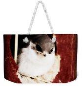 Red Barn Birdie Weekender Tote Bag