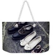 Shoes Weekender Tote Bag by Joana Kruse