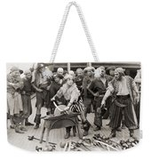 Silent Film Still: Pirates Weekender Tote Bag