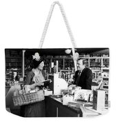 Silent Film Still: Stores Weekender Tote Bag