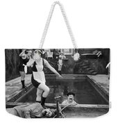 Silent Still: Bathers Weekender Tote Bag