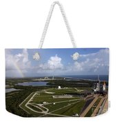 Space Shuttle Atlantis And Endeavour Weekender Tote Bag