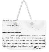 Spanish American War, 1898 Weekender Tote Bag