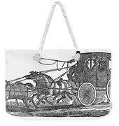 Stagecoach, 19th Century Weekender Tote Bag