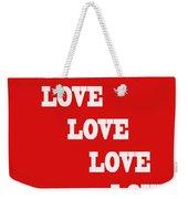 5 Steps Of Love Weekender Tote Bag