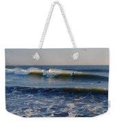 Surfers Make The Ocean Better Series Weekender Tote Bag