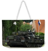 The Leopard 1a5 Mbt Of The Belgian Army Weekender Tote Bag