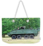 The Piranha IIic Of The Belgian Army Weekender Tote Bag