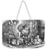 Thomas Nast: Santa Claus Weekender Tote Bag by Granger