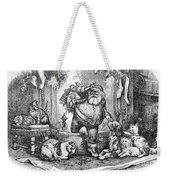 Thomas Nast: Santa Claus Weekender Tote Bag