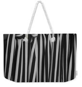 5 Ties In Black And White Weekender Tote Bag