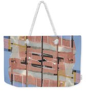 Urban Abstract San Diego Weekender Tote Bag by Carol Leigh