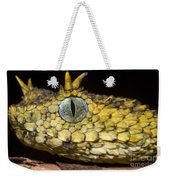 Usambara Eyelash Bush Viper Weekender Tote Bag