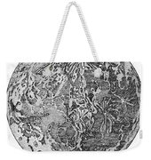 Verne: Earth To Moon Weekender Tote Bag