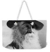 Walt Whitman (1819-1892) Weekender Tote Bag