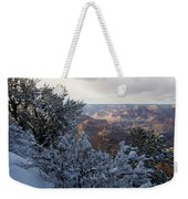 Winter Time On The South Rim Weekender Tote Bag