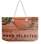 50 Pounds Of Apples Weekender Tote Bag