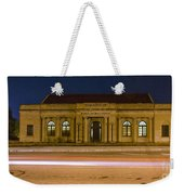 50 Years Past Train Time Weekender Tote Bag
