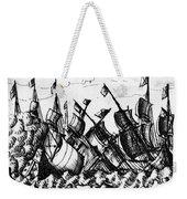 Spanish Armada, 1588 Weekender Tote Bag