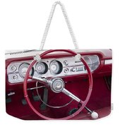55 Chevy Ss Dash Weekender Tote Bag
