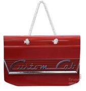 56 Ford F100 Custom Cab Weekender Tote Bag