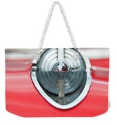 '57 Chevy Hood Ornament 8508 Weekender Tote Bag