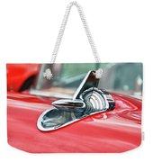 57 Chevy Hood Ornament 8509 Weekender Tote Bag