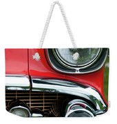 57 Chevy Left Front 8560 Weekender Tote Bag