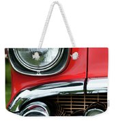 57 Chevy Right Front 8561 Weekender Tote Bag