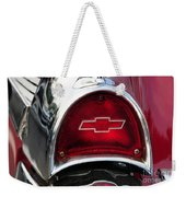 57 Chevy Tail Light Weekender Tote Bag