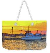 57- Sunset Cruise Weekender Tote Bag