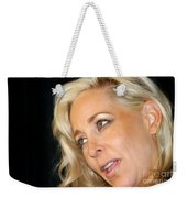 Blond Woman Weekender Tote Bag