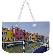 Burano - Venice - Italy Weekender Tote Bag