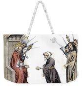 Charlemagne (742-814) Weekender Tote Bag