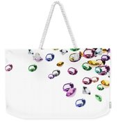 Colorful Gems Weekender Tote Bag by Setsiri Silapasuwanchai