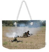 Evacuation Of A Wounded Soldier By An Weekender Tote Bag