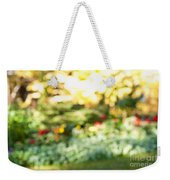 Flower Garden In Sunshine Weekender Tote Bag by Elena Elisseeva
