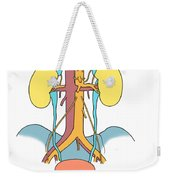 Illustration Of Urinary System Weekender Tote Bag