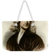Isaac Newton, English Polymath Weekender Tote Bag